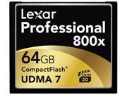 Lexar Professional 64 GB CompactFlash (CF) Card