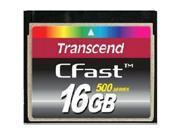 Transcend TS16GCFX500 16 GB CFast Card - 1 Card