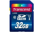 Transcend Premium 32GB Secure Digital High-Capacity (SDHC) Flash Card Model TS32GSDU1