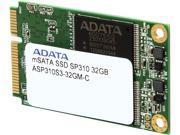 ADATA Premier Pro SP310 mSATA 32GB SATA 6Gb/s MLC Internal Solid State Drive (SSD) ASP310S3-32GM-C
