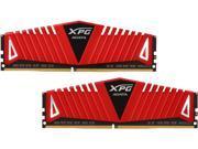 ADATA XPG Z1 16GB (2 x 8GB) 288-Pin DDR4 SDRAM DDR4 2800 (PC4 22400) Desktop Memory Model AX4U2800W8G17-DRZ