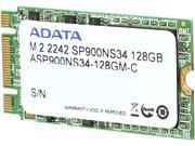 ADATA Premier Pro SP900 M.2 128GB SATA 6Gb/sec MLC Internal Solid State Drive (SSD) ASP900NS34-128GM-C