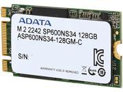 ADATA Premier SP600NS34 ASP600NS34-128GM-C M.2 2242 128GB SATA III Synchronous MLC Internal Solid State Drive (SSD)