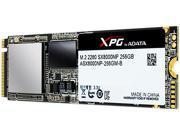 ADATA XPG SX8000 M.2 2280 256GB PCI-Express 3.0 x4 MLC Internal Solid State Drive (SSD) ASX8000NP-256GM-C