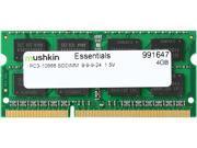 Mushkin Enhanced 4GB 204-Pin DDR3 SO-DIMM DDR3 1333 (PC3 10666) Laptop Memory Model 991647
