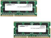 Mushkin Enhanced 8GB 2 x 4GB 204 Pin DDR3 SO DIMM DDR3 1333 PC3 10600 Memory for Apple Model 976647A