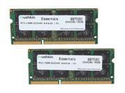 Mushkin Enhanced Essentials 16GB (2 x 8G) 204-Pin DDR3 SO-DIMM DDR3 1333 (PC3 10666) Laptop Memory Model 997020