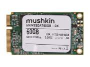 Mushkin Enhanced Atlas Series 60GB Mini-SATA (mSATA) MLC Internal Solid State Drive (SSD) MKNSSDAT60GB-DX