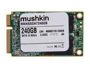 Mushkin Enhanced 240GB Mini-SATA (mSATA) MLC Internal Solid State Drive (SSD) MKNSSDAT240GB