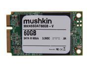 Mushkin Enhanced Atlas Series 60GB Mini-SATA (mSATA) MLC Internal Solid State Drive (SSD) MKNSSDAT60GB-V