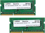 Mushkin Enhanced Blackline 16GB (2 x 8G) 204-Pin DDR3 SO-DIMM DDR3 1600 (PC3 12800) Laptop Memory Model 997067