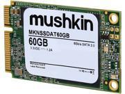 Mushkin Enhanced Atlas Series mSATA 60GB Mini-SATA (mSATA) MLC Internal Solid State Drive (SSD) MKNSSDAT60GB