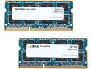 Mushkin Enhanced Essentials 16GB (2 x 8G) 204-Pin DDR3 SO-DIMM DDR3L 1866 (PC3L 14900) Laptop Memory Model 997218