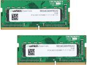 Mushkin Enhanced Essentials 16GB (2 x 8G) 260-Pin DDR4 SO-DIMM DDR4 2400 (PC4 19200) Laptop Memory Model MES4S240HF8GX2 9SIA1K65VS5528