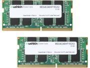 Mushkin Enhanced Essentials 32GB (2 x 16G) 260-Pin DDR4 SO-DIMM DDR4 2400 (PC4 19200) Laptop Memory Model MES4S240HF16GX2 9SIA1K65VS9300