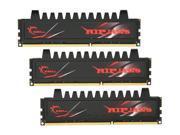 G.SKILL Ripjaws Series 12GB (3 x 4GB) 240-Pin DDR3 SDRAM DDR3 1333 (PC3 10666) Desktop Memory Model F3-10666CL7T-12GBRH