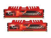 G.SKILL Ripjaws X Series 4GB (2 x 2GB) 240-Pin DDR3 SDRAM DDR3 1600 (PC3 12800) Desktop Memory Model F3-12800CL9D-4GBXL