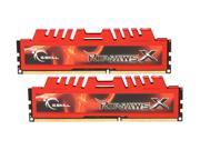 G.SKILL Ripjaws X Series 8GB (2 x 4GB) 240-Pin DDR3 SDRAM DDR3 1866 (PC3 14900) Desktop Memory Model F3-14900CL9D-8GBXL