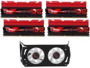 G.SKILL TridentX Series 32GB (4 x 8GB) 240-Pin DDR3 SDRAM DDR3 2666 (PC3 21300) Desktop Memory Model F3-2666C11Q-32GTXD