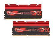 G.SKILL TridentX Series 16GB (2 x 8GB) 240-Pin DDR3 SDRAM DDR3 2133 (PC3 17000) Desktop Memory Model F3-2133C9D-16GTX