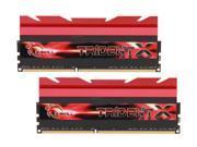 G.SKILL TridentX Series 16GB (2 x 8GB) 240-Pin DDR3 SDRAM DDR3 1866 (PC3 14900) Desktop Memory Model F3-1866C8D-16GTX