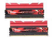 G.SKILL TridentX Series 16GB (2 x 8GB) 240-Pin DDR3 SDRAM DDR3 1600 (PC3 12800) Desktop Memory Model F3-1600C7D-16GTX
