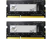 G.SKILL 8GB (2 x 4GB) 204-Pin DDR3 SO-DIMM DDR3L 1600 (PC3L 12800) Laptop Memory Model F3-1600C9D-8GSL