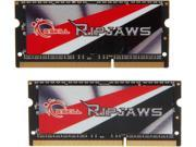 G.SKILL Ripjaws Series 16GB (2 x 8G) 204-Pin DDR3 SO-DIMM DDR3L 2133 (PC3L 17000) Laptop Memory Model F3-2133C11D-16GRSL