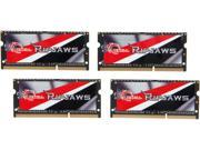 G.SKILL Ripjaws 32GB (4 x 8G) 204-Pin DDR3 SO-DIMM DDR3L 1866 Laptop Memory Model F3-1866C11Q-32GRSL