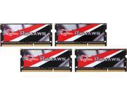 G.SKILL Ripjaws 32GB (4 x 8G) 204-Pin DDR3 SO-DIMM DDR3L 1333 (PC3L 10600) Laptop Memory Model F3-1333C9Q-32GRSL