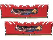 G.SKILL Ripjaws 4 Series 16GB (2 x 8GB) 288-Pin DDR4 SDRAM DDR4 2400 (PC4 19200) Memory Kit Model F4-2400C15D-16GRR