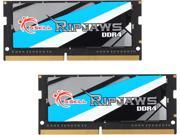 G.SKILL Ripjaws Series 16GB 2 x 8G 260 Pin DDR4 SO DIMM DDR4 2133 PC4 17000 Laptop Memory Model F4 2133C15D 16GRS
