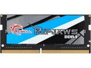 G.SKILL Ripjaws Series 8GB 260-Pin DDR4 SO-DIMM DDR4 2400 (PC4 19200) Laptop Memory Model F4-2400C16S-8GRS