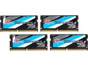 G.SKILL Ripjaws Series 32GB (4 x 8G) 260-Pin DDR4 SO-DIMM DDR4 2133 (PC4 17000) Laptop Memory Model F4-2133C15Q-32GRS