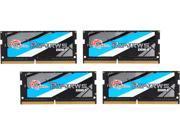 G.SKILL Ripjaws Series 32GB (4 x 8G) 260-Pin DDR4 SO-DIMM DDR4 2400 (PC4 19200) Laptop Memory Model F4-2400C16Q-32GRS