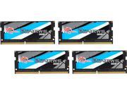 G.SKILL Ripjaws Series 32GB (4 x 8G) 260-Pin DDR4 SO-DIMM DDR4 2666 (PC4 21300) Laptop Memory Model F4-2666C18Q-32GRS