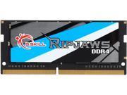 G.SKILL Ripjaws Series 16GB 260-Pin DDR4 SO-DIMM DDR4 2666 (PC4 21300) Laptop Memory Model F4-2666C18S-16GRS