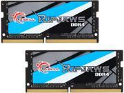 G.SKILL Ripjaws Series 16GB (2 x 8G) 260-Pin DDR4 SO-DIMM DDR4 2800 (PC4 22400) Laptop Memory Model F4-2800C18D-16GRS