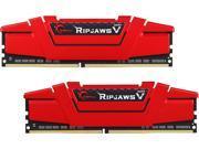 G.SKILL Ripjaws V Series 16GB (2 x 8GB) 288-Pin DDR4 SDRAM DDR4 3466 (PC4 27700) Intel Z170 Platform Desktop Memory Model F4-3466C16D-16GVR