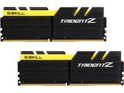 G.SKILL TridentZ Series 16GB 2 x 8GB 288 Pin DDR4 SDRAM DDR4 3200 PC4 25600 Intel Z170 Platform Desktop Memory Model F4 3200C16D 16GTZKY