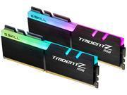 G.SKILL TridentZ RGB Series 16GB (2 x 8GB) 288-Pin DDR4 SDRAM DDR4 3200 (PC4 25600) Desktop Memory Model F4-3200C14D-16GTZR