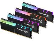 G.SKILL TridentZ RGB Series 32GB 4 x 8GB 288 Pin DDR4 SDRAM DDR4 3000 PC4 24000 Desktop Memory Model F4 3000C14Q 32GTZR