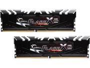 G.SKILL Flare X Series 32GB 2 x 16GB 288 Pin DDR4 SDRAM DDR4 2133 PC4 17000 AMD X370 B350 A320 Memory Desktop Memory Model F4 2133C15D 32GFX