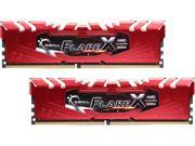 G.SKILL Flare X Series 32GB (2 x 16GB) 288-Pin DDR4 SDRAM DDR4 2133 (PC4 17000) AMD X370 / B350 / A320 Memory (Desktop Memory) Model F4-2133C15D-32GFXR