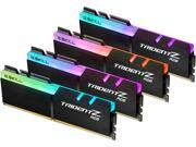 G.SKILL TridentZ RGB Series 64GB (4 x 16GB) 288-Pin DDR4 SDRAM DDR4 2400 (PC4 19200) Desktop Memory Model F4-2400C15Q-64GTZR