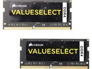 CORSAIR ValueSelect 8GB 2 x 4GB 260 Pin DDR4 SO DIMM DDR4 2133 PC4 17000 Laptop Memory Model CMSO8GX4M2A2133C15