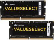 CORSAIR ValueSelect 16GB (2 x 8G) 260-Pin DDR4 SO-DIMM DDR4 2133 (PC4 17000) Laptop Memory Model CMSO16GX4M2A2133C15