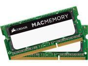 CORSAIR 16GB (2 x 8GB) 204-Pin DDR3 SO-DIMM DDR3L 1866 (PC3L 14900) Mac Memory Model CMSA16GX3M2A1866C11
