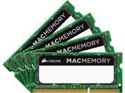 CORSAIR 32GB 4 x 8GB 204 Pin DDR3 SO DIMM DDR3L 1866 PC3L 14900 Mac Memory Model CMSA32GX3M4C1866C11