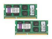 Kingston 16GB (2 x 8G) 204-Pin DDR3 SO-DIMM DDR3 1600 Laptop Memory Model KVR16S11K2/16
